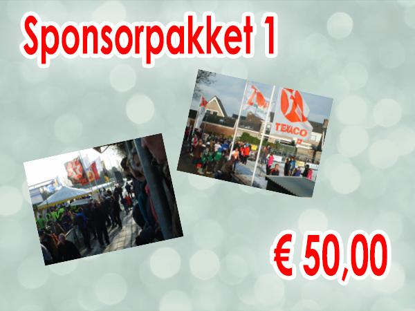 sponsor pakket 1